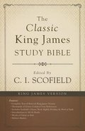 The KJV Scofield Classic Study Bible Hardback