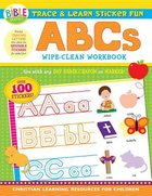 Trace and Learn Sticker Fun: ABCS