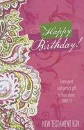 KJV Gift New Testament: Happy Birthday