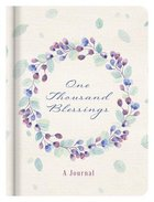 Journal: One Thousand Blessings Hardback