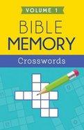 Bible Memory Crosswords (Volume 1) Paperback