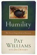 Humility: The Secret Ingredient of Success Hardback