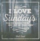I Love Sundays Paperback