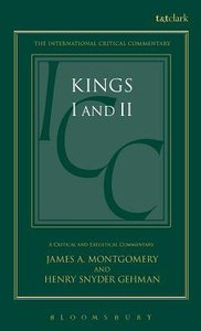 Kings 1 & 11 (International Critical Commentary Series)