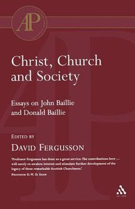 Christ, Church, and Society