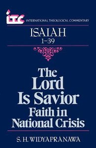Itc Isaiah 1-39 (International Theological Commentary Series)