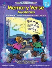 Memory Verse Mysteries (Reproducible; Grades 1-3) (Fun Faith-builders Series)