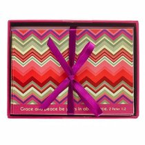 Chevron Chic Boxed Cards: Grace and Peace (2 Peter 3:18)