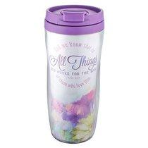 Polymer 360ml Mug: All Things... (Purple)