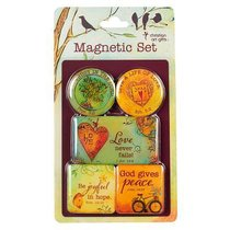 Magnetic Set of 5: God Gives Peace