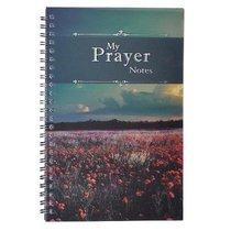 Spiral Notebook: My Prayer Notes, Wildflowers