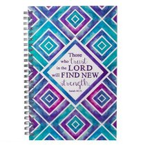 Spiral Notebook: Those Who Trust in the Lord (Isa 40:31)
