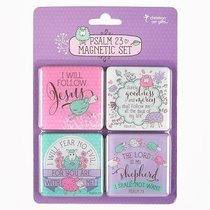 Magnetic Set of 4: Psalm 23