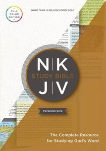NKJV Study Bible Personal Size Indexed (Red Letter Edition)