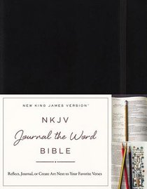 NKJV Journal the Word Bible Red Letter Edition
