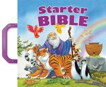 Starter Bible With Purple Handles
