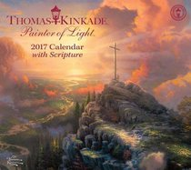 2017 Thomas Kinkade Painter of Light Deluxe Wall Calendar