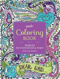 Prayers For Inspiration & Peace (Posh Adult Colouring Book Series)