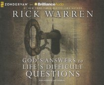 Gods Answers to Lifes Difficult Questions (Unabridged, 3 Cds)