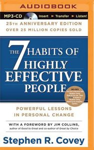 The 7 Habits of Highly Effective People (Unabridged, Mp3)