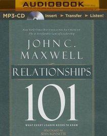 Relationships 101 (Unabridged, Mp3)