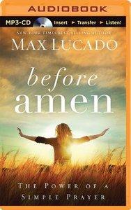 Before Amen (Unabridged, Mp3)