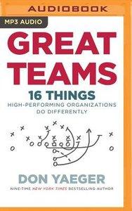 Great Teams (Unabridged, Mp3)