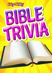 Activity Book Bible Trivia (Itty Bitty Bible Series)