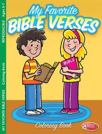 My Favorite Bible Verses Coloring Book (Ages 5-7, Reproducible) (Warner Press Colouring & Activity Books Series)