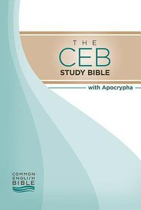 Ceb Study Bible With Apocrypha
