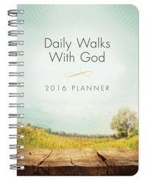 2016 Planner: Daily Walks With God (Pathway)