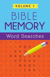 Bible Memory Word Searches (Volume 1)