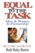 Equal to the Task Paperback