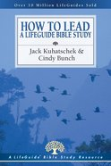 How to Lead a Lifeguide Bible Study (Lifeguide Bible Study Series) Paperback