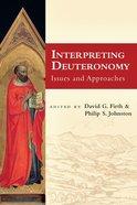 Interpreting Deuteronomy Paperback