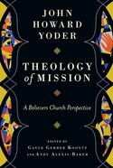 Theology of Mission Hardback