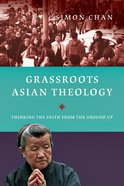 Grassroots Asian Theology Paperback