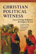 Christian Political Witness Paperback