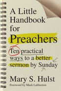 A Little Handbook For Preachers Paperback