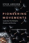 Pioneering Movements Paperback