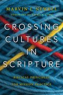 Crossing Cultures in Scripture Paperback