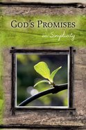 God's Promises: On Simplicity