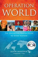 Operation World (7th Edition) (2010 Edition - Plus Cd) Paperback