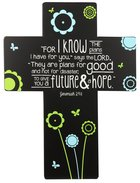 Joy Blossoms Wall Cross: Journey Black/Blue/Yellow/White (Jeremiah 29:11) Homeware