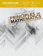 Principles of Mathematics Book 1 (Teachers Guide) Paperback