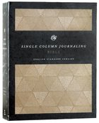 ESV Single Column Journaling Bible Timeless Hardback