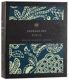 ESV Journaling Bible Blue Flora (Black Letter Edition)