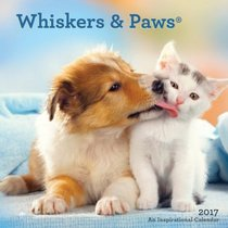 2017 Wall Calendar: Whiskers & Paws