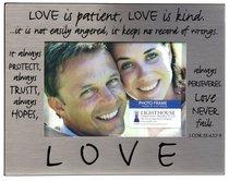 Pewter Photo Frame: Love