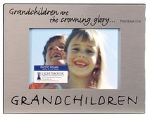 Pewter Photo Frame: Grandchildren
